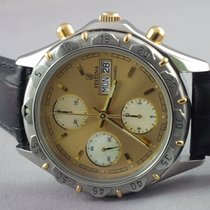 Festina Chronograph MOP dial champagne day & date Gold /...