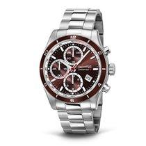 Eberhard & Co. Champion V cronografo, quadrante e lunetta...