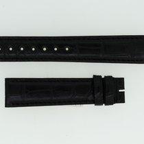 Zenith Lederband / Alligator / Schwarz - 18/16 Länge 115/75