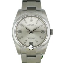 勞力士 (Rolex) 116000 Oyster Perpetual Silver Arabic Numeral Dial SS