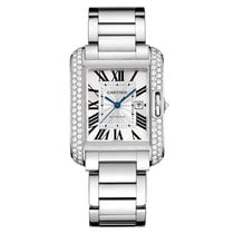 Cartier Tank Anglaise White Gold with Diamonds