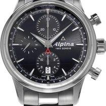 Alpina Geneve Alpiner Chronograph AL-750B4E6B Herren Automatik...