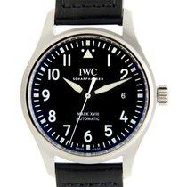 萬國 (IWC) Pilots Stainless Steel Black Automatic IW327001