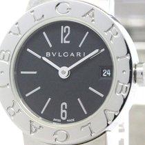 Bulgari Polished  - Steel Quartz Ladies Watch Bb23ss (bf102461)