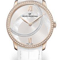 Girard Perregaux 1966 LADY 38MM Pink Gold Strap White Dial...