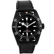 Tudor Heritage Black Bay Dark Pvd Coated Watch 79230dk Unworn