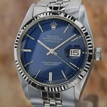 Rolex Vintage Datejust 1977 Mens 18k Stainless 1601 Swiss...