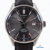 TAG Heuer Carrera Calibre 7 Twin-Time Automatik 41mm WAR2012.F...