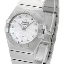 Omega Constellation Brushed Quarz Small Pluma