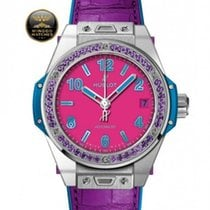 Χίμπλοτ (Hublot) - BIG BANG - POP ART STEEL PURPLE