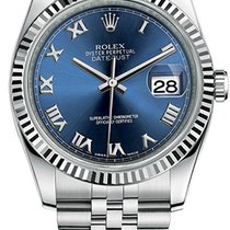 Rolex Datejust 36mm Steel and White Gold 116234