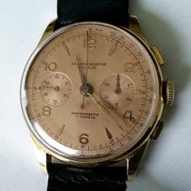 Chronographe Suisse Cie 18k Gold Landeron 51 Very nice...