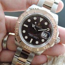 롤렉스 (Rolex) Yacht Master 116621 Ss/everose Gold With Chocolate...