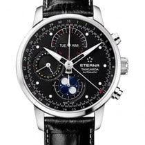 Eterna Tangaroa Moonphase Chronograph 42mm triple calendar Swiss