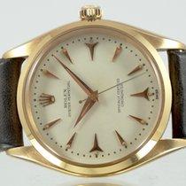 ロレックス (Rolex) Oyster Or Rose cadran Style Ivoire Circa 1957