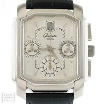 Glashütte Original Senator Karree Chronograph Edelstahl...