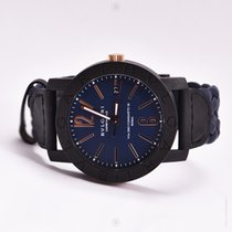 Bulgari Carbongold Via dei Condotti 10 Blue BB40CL