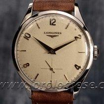 Longines Vintage 1952- Ref. 7133 Honeycomb Dial Steel Watch...