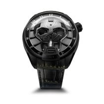 HYT Skull Bad Boy Black DLC Titanium 151-DL-43-NF-AS