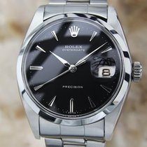 Rolex 6494 Rare Mens Manual Swiss Made 34mm 1960s Stainless...