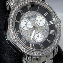 Benny & Co Chronograph Factory Mop Diamonds Dial &...