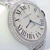 Cartier Ballon Bleu W69012z4 Diamonds Bezel 42mm Xl Size  No...
