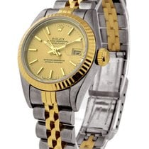 Rolex Used 69173_used_champ_stick Ladys 2-Tone Datejust with...