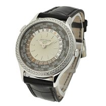 Patek Philippe 7130G-001 World Time in White Gold with Diamond...