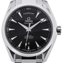 Omega Seamaster Aqua Terra Co-Axial Day Date 41,5 Black