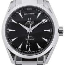 Omega Seamaster Aqua Terra Co-Axial Day Date 41,5 Black