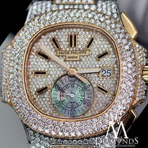 パテック・フィリップ (Patek Philippe) Diamonds  Nautilus 2tone18k Gold...