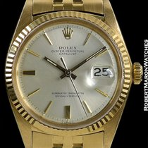 Rolex Datejust Unpolished 18k 1601