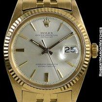 Rolex Datejust Unpolished 18k 1601