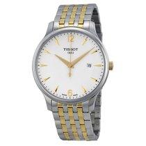 天梭 (Tissot) T-Classic Tradition White Dial Men's Watch