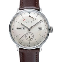 Junkers Bauhaus Auto Watch Power Reserve Exhibition Back 40mm...