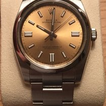 Rolex Oyster Perpetual 36mm White Grape