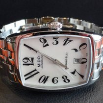 Mido Baroncelli Lady Steel Case Data Big Numbers M0031071111200