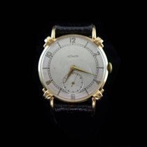 Jaeger-LeCoultre 14K Solid Yellow Gold - Caliber 9 RO (Vachero...