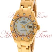Rolex Datejust Pearlmaster 29mm, Motion of Pearl Dial, 12...