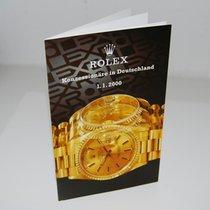 Rolex Broschüre Konzessionäre in Deutschland