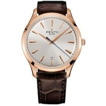 Zenith Elite Captain Central Second 41mm 18K Rose Gold