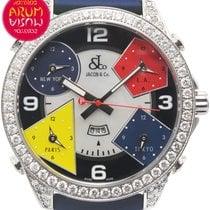 Jacob & Co. Time Zones 47 mm Diamonds