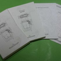 Jaeger-LeCoultre vintage kit warranty booklet and papers...
