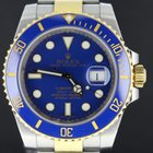 Ρολεξ (Rolex) Submariner Gold/Steel,Blue Dial (B&P/2011)