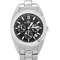 Wyler Vetta Men's Stainless Steel Automatic Chronograph...