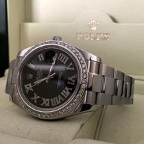 Rolex Datejust II Steel Diamond Bezel & Dial 41mm (Full...