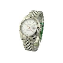 Rolex Used 116264_white_used Mens Steel Turn-O-Graph - Jubilee...