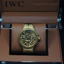 IWC SOLD OUT   I.W.C.  Marriage Skeleton Wristwatch, Art Mariage