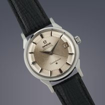 Omega Constellation 'Pie-Pan' stainless steel automati...