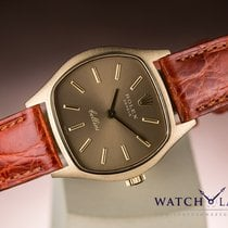 Rolex CELLINI 1969 YELLOW GOLD & BROWN DIAL - PERFECT...